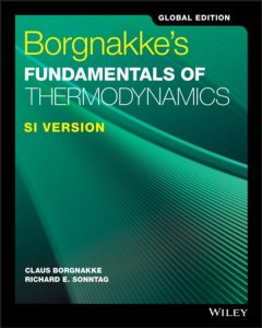 Solution Manual Borgnakke's Fundamentals of Thermodynamics Claus Borgnakke, Richard Sonntag