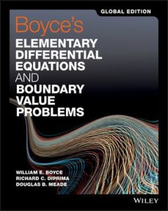 Solution Manual Boyce's Elementary Differential Equations and Boundary Value Problems