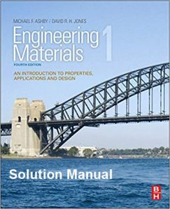 Solution Manual Engineering Materials 1 Michael Ashby, David Jones