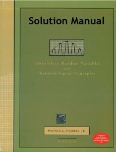 Solution Manual Probability, Random Variables, and Random Signal Principles Peyton Peebles