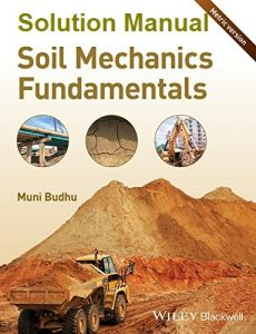Solution Manual Soil Mechanics Fundamentals Muni Budhu